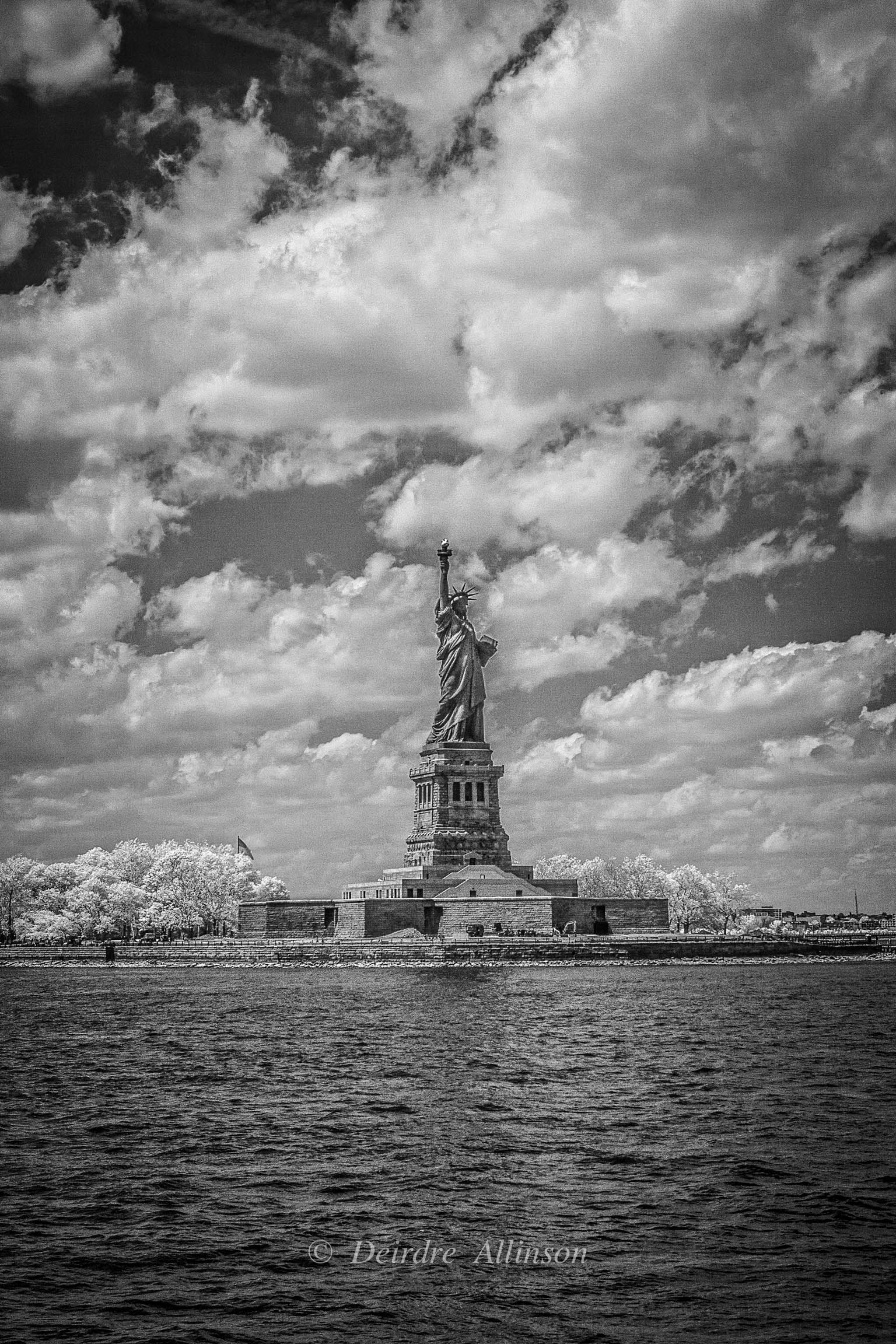 Lady Liberty, vertical